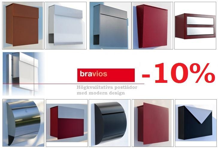 Bravios postlådor